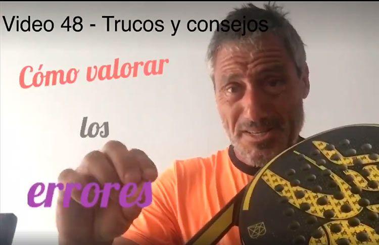 Consejos-trucos de Miguel Sciorilli (48): Cómo valorar los errores