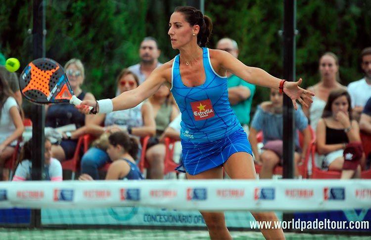 Teresa Navarro, en acción en el Costa del Sol Open