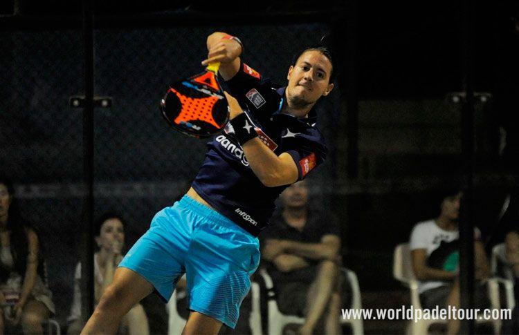 Andoni Bardasco, en acción en el Estrella Damm Alicante Open 2017