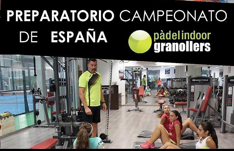 Curso Preparatorio del Cpto de España de Menores, impartido por Gustavo Balquinta