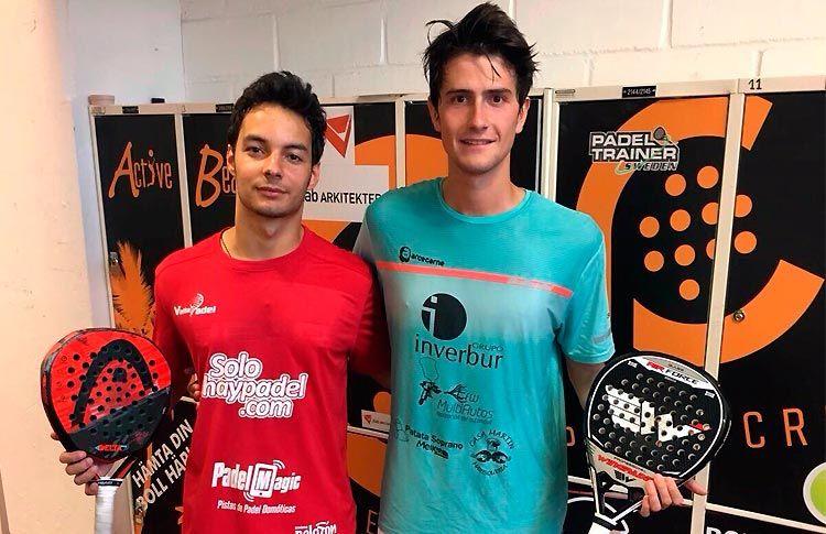 Javier Martínez-Jorge Barriuso siguen adelante en el Helsingborg Challenger 2017
