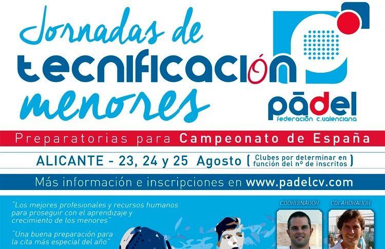 Gran formación para los Menores Valencianos de la mano de FEP y WPT