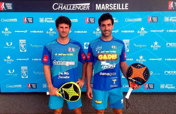 Borja Yribarren-Guga Vázquez, en acción en el Marsella Challenger 2017