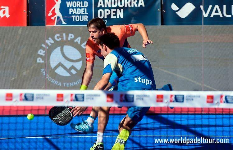 Cristian Gutiérrez-Franco Stupaczuk, en acción en el Andorra Open 2017