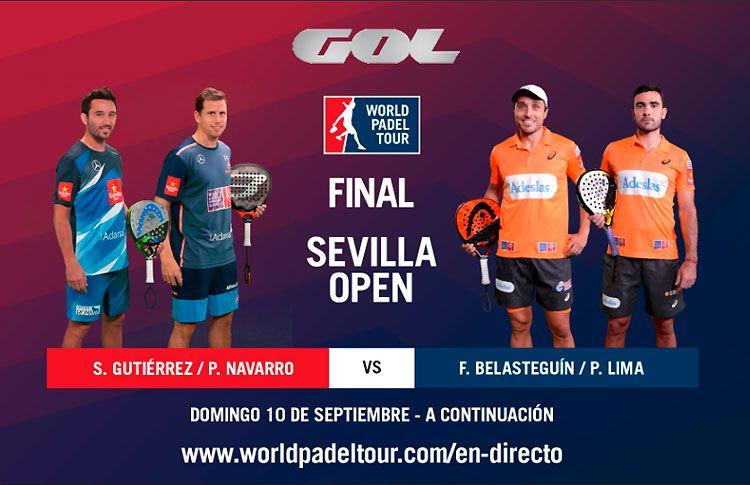 Sevilla Open: Sigue las finales, EN DIRECTO