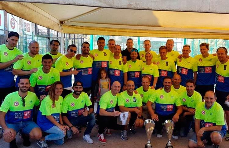 El torneo 'más seguro' se jugó en Tennis Padel Soleil