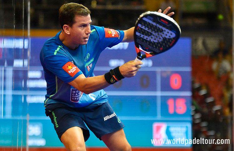 Paquito Navarro, en acción en el Sevilla Open 2017