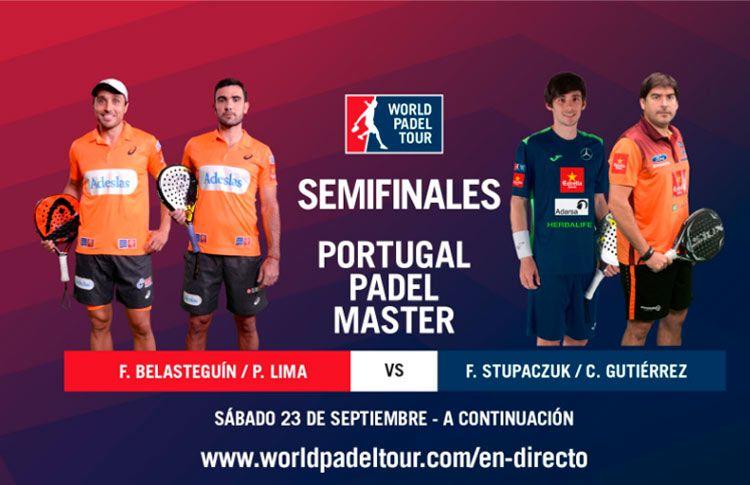 Sigue las semifinales del Portugal Padel Master, EN DIRECTO