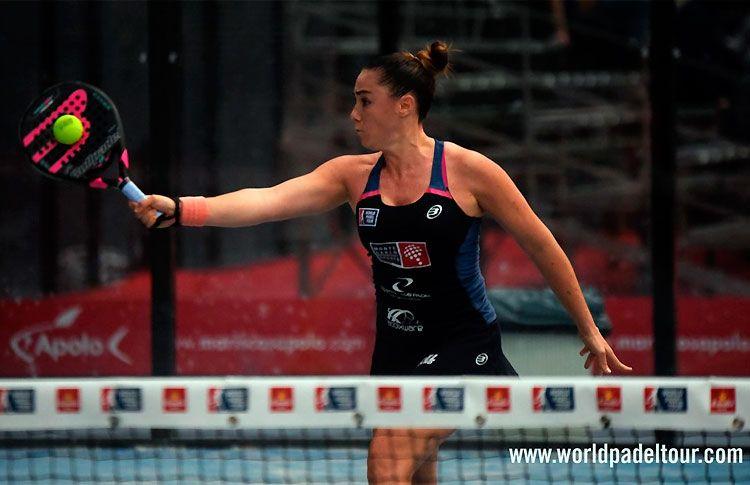 Laura Clergue, en la Pre-Previa del Zaragoza Open 2017