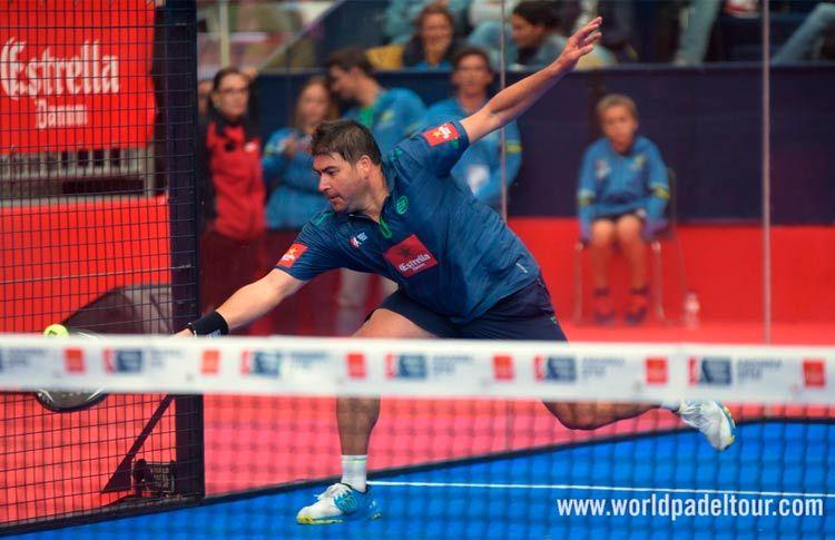 Cristian Gutiérrez, en acción en el Andorra Open 2017