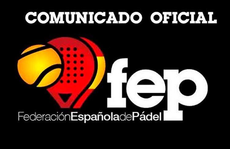 La FEP confirma el cambio de sede del Campeonato de España Absoluto