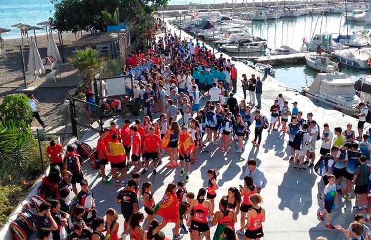Desfile de banderas del XI Campeonato del Mundo de Menores