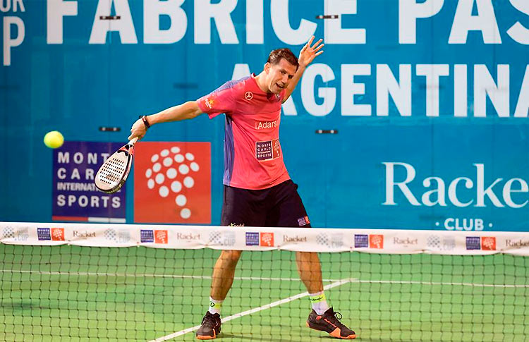 Paquito Navarro, jugador del MCI Sports Team