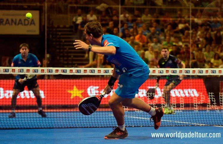 Paquito Navarro, en acción en el Granada Open 2017