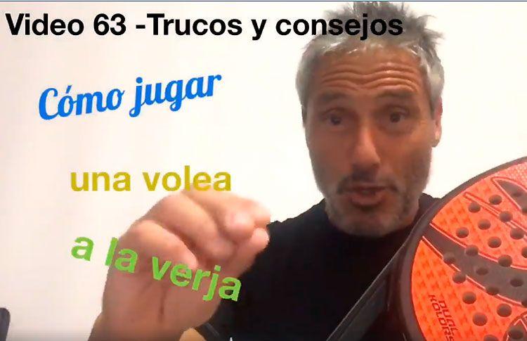 Consejos-trucos de Miguel Sciorilli (63): Jugar una volea a la verja