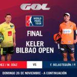 Sigue las finales del Keler Bilbao Open, EN DIRECTO