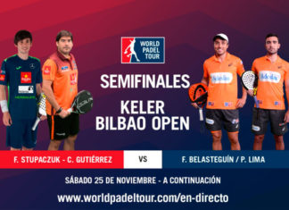 Keler Bilbao Open: Orden de Juego de Semifinales