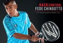 Fede Chingotto nos presenta su nueva pala: Hack Control de Bullpadel