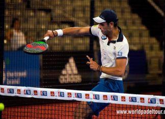 Pablo Lijó, en acción en el Granada Open 2017