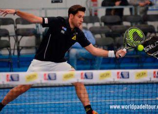 Nacho Gadea, en acción en el Keler Bilbao Open 2017