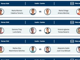 Estrella Damm Másters Finals: Orden de Juego de la segunda jornada