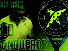 Las Palas de las Estrellas: Drop Shot Conqueror 6.0, gran compañera para Juan Martín Díaz en su vuelta a las pistas