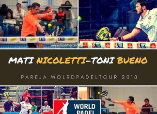 Matías Nicoletti y Toni Bueno, listos para afrontar juntos la temporada 2018