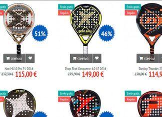 Grandes ofertas de pádel para Reyes en la web de Oferta Pala Padel