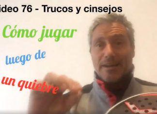 Consejos-trucos de Miguel Sciorilli (76): Cómo jugar cuando nos rompen el saque
