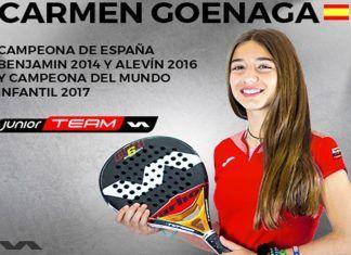 Carmen Goenaga, otra joven promesa se suma al Varlion Team