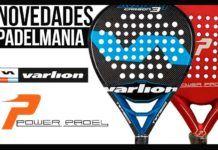 Varlion y Power Padel llegan junto a numerosas novedades al catálogo de Padelmanía