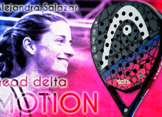Las Palas de las Estrellas: HEAD Graphene Touch Delta Motion, potencial ofensivo para Alejandra Salazar