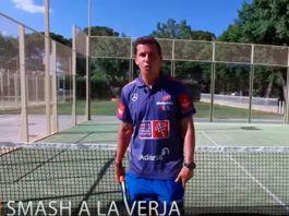 Los 'trucos' de Paquito Navarro: El smash a la verja