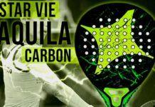 Las Palas de las Estrellas: StarVie Aquila Carbon, un relámpago para Majo Sánchez Alayeto