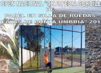 Punta Umbría, sede de la octava prueba de la Copa de España de Pádel en Silla de Ruedas