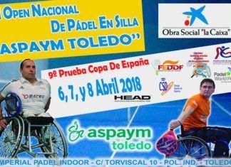 Toledo, sede de la novena prueba de la Copa de España de Pádel en Silla de Ruedas