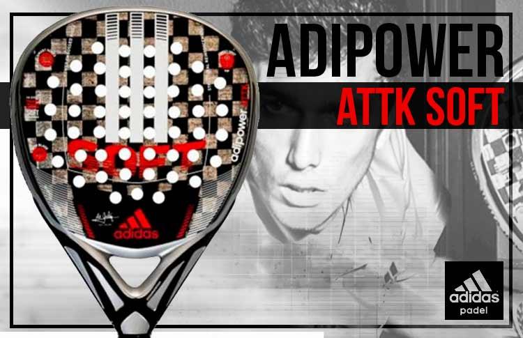 Sangrar corriente síndrome  The Shovels of the Stars: Adidas Adipower ATTK Soft 1.8, next-generation  paddle for Ale Galán | Padel World Press 2021