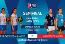 Sigue las semifinales del Caja Rural Jaén Open, EN DIRECTO