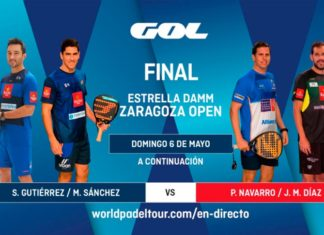 Sigue las finales del Estrella Damm Zaragoza Open, EN DIRECTO