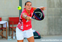 Valladolid Open 2018: Alix Collombon, en action (World Padel Tour)