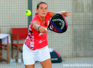 Valladolid Open 2018: Alix Collombon, en acción (World Padel Tour)