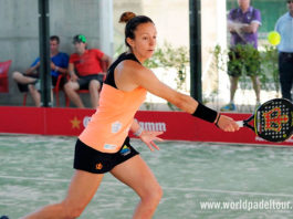 Valladolid Open 2018: Carla Mesa, en action (World Padel Tour)