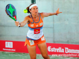 Valladolid Open 2018: Carolina Navarro, en acción (World Padel Tour)