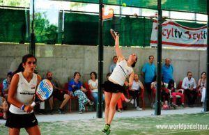 Valladolid Open 2018: Alicia Blanco - Bea Caldera, en acción