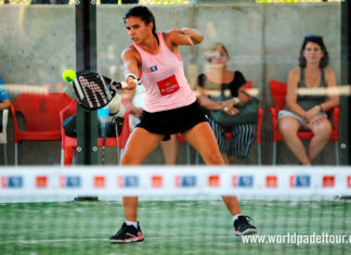 Valladolid Open 2018: Delfina Brea, en acción (World Padel Tour)