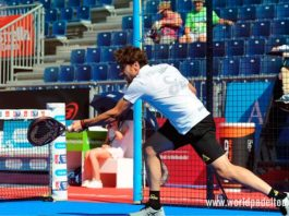 Valladolid Open 2018: Nacho Gadea, en acción (World Padel Tour)