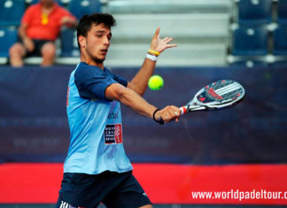 Valladolid Open 2018: Ale Galán, en acción (World Padel Tour)