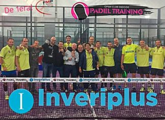 Veteranos Padel Training Inveriplus: El sueño cumplido de mantenerse en Iª