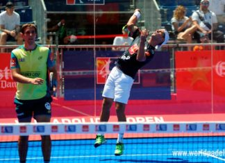 Valladolid Open 2018: Ramiro Moyano, en acción (World Padel Tour)