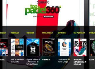 Número 38 de la Revista Digital Top Pádel